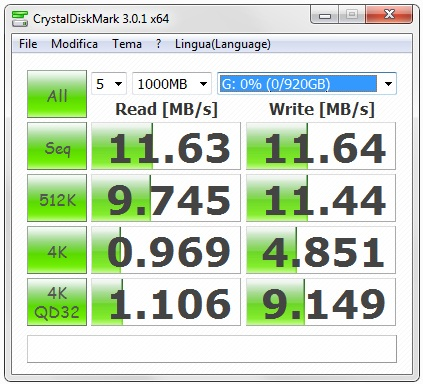 Raid 1 Crystal Disk Mark