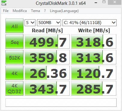 Crystal Disk Mark 3.0.1. x64