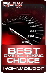 Best Overclocking Choice Award.