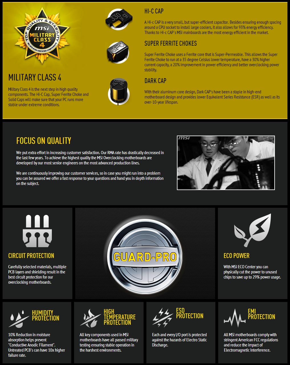 Features della Z97 MPower