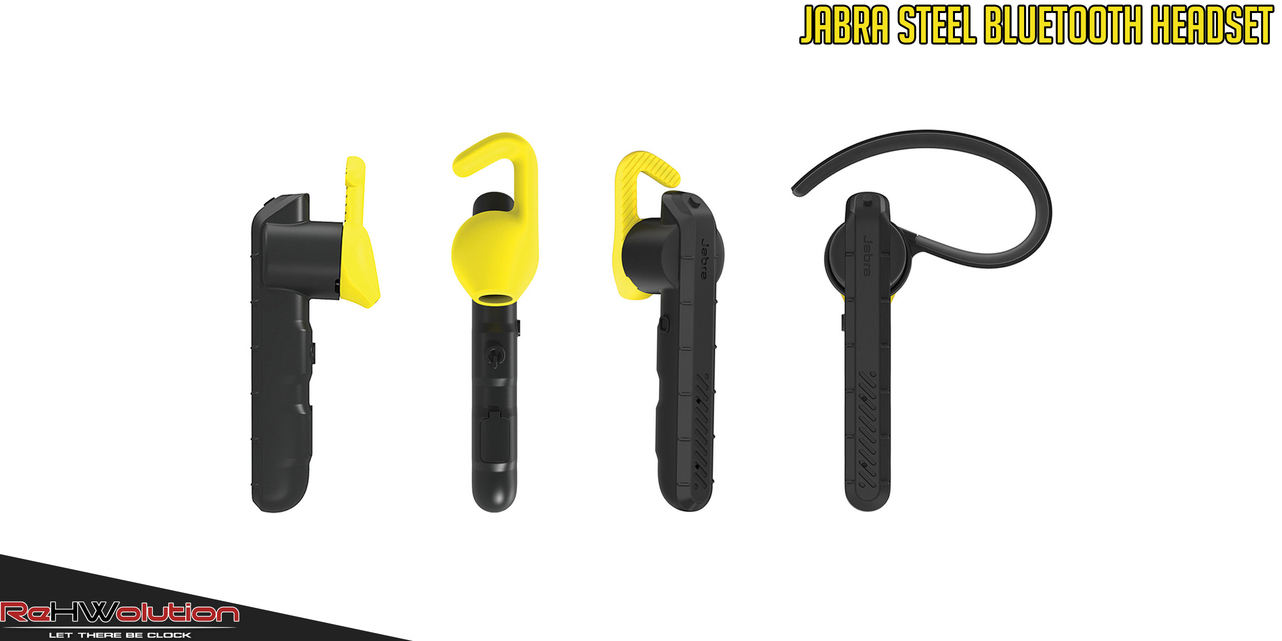 jabra steel bluetooth headset recensione rehwolution. Black Bedroom Furniture Sets. Home Design Ideas